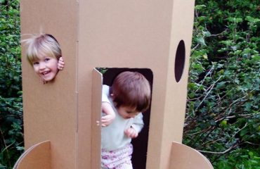 , biodegradable playhouse