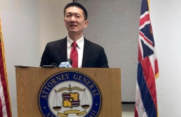Doug Chin, the Hawaii state attorney-general