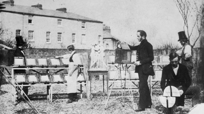 William Fox Talbot's photography studio