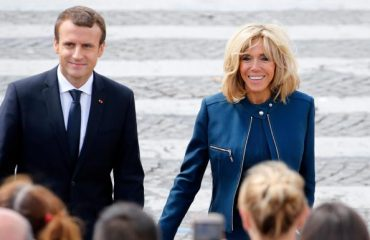 President Macron and his wife